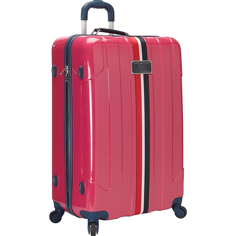Tommy Hilfiger Luggage Lochwood 28 Hardside Upright Spinner Pink Tommy Hilfiger Luggage Softside Checked