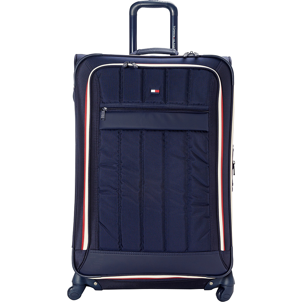 Tommy Hilfiger Luggage Classic Sport 28 Exp. Upright Navy Navy Tommy Hilfiger Luggage Softside Checked