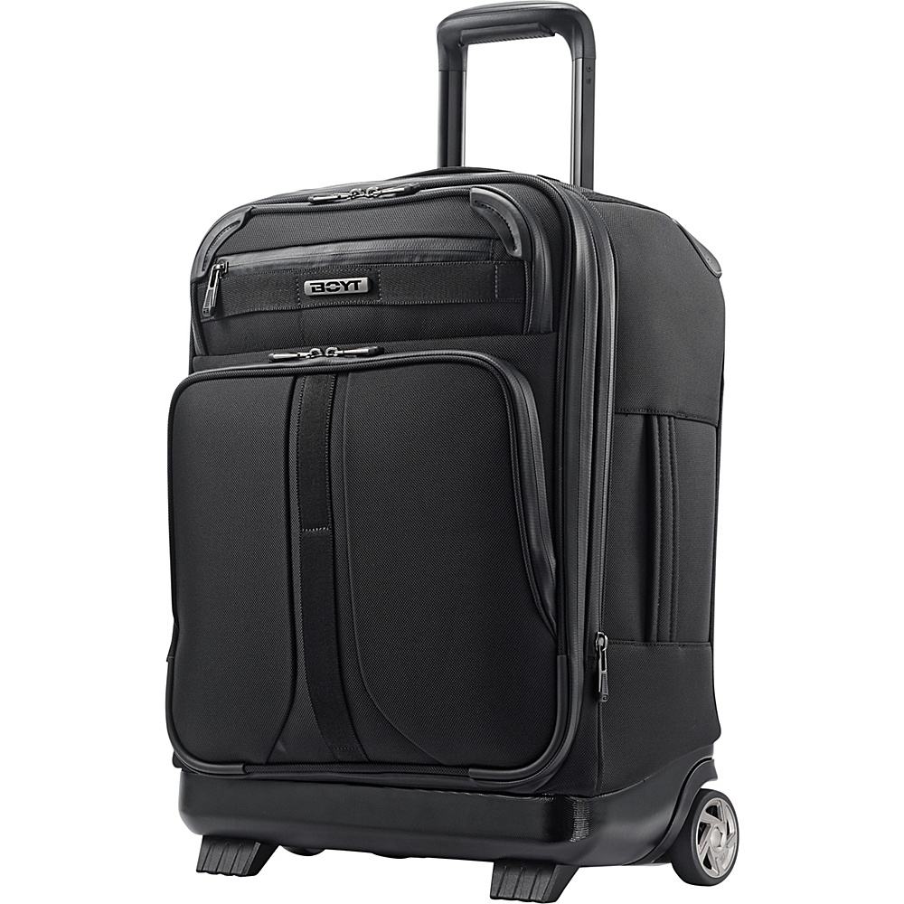 "Boyt Mach 1 Softside Upright 21"" Deep Black - Boyt Small Rolling Luggage"