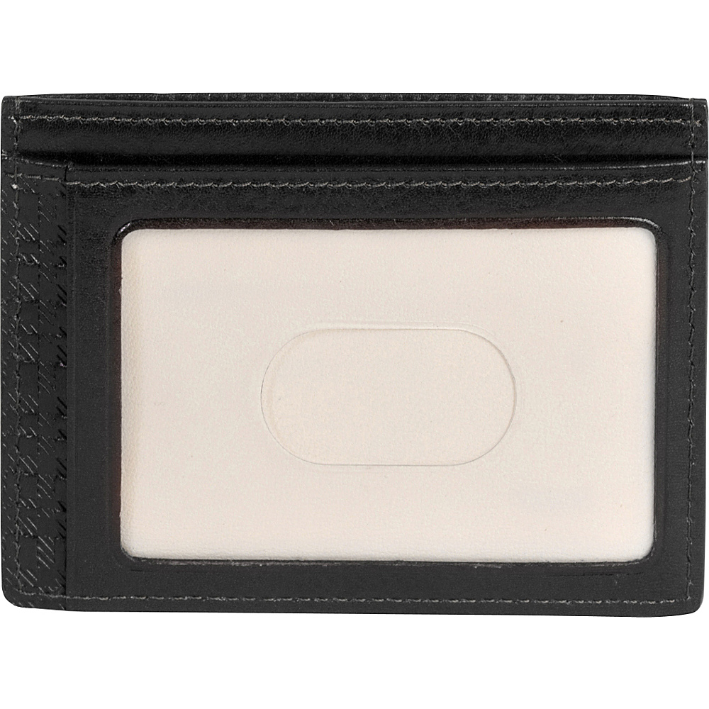 Boconi Becker RFID Weekender ID Card Case Black w Aspen Boconi Men s Wallets
