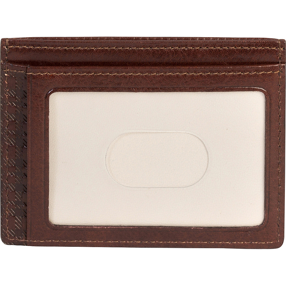 Boconi Becker RFID Weekender ID Card Case Whiskey w Aspen Boconi Men s Wallets