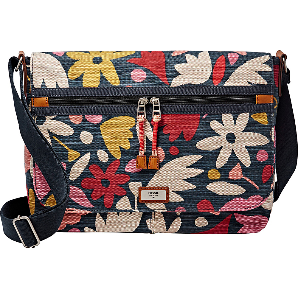 6a1b9d91f0 The most competitive prices for Handbags, Bags, Totes, Shoulder Bags,  Travel Bags, Briefcases, Clutches, and more! Fossil Blake Messenger Blake  Floral ...