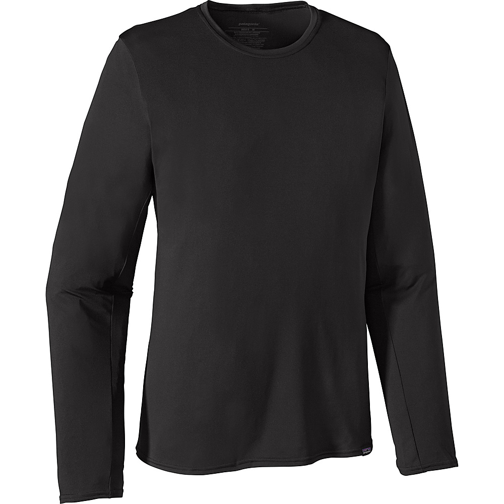 Patagonia Mens Long Sleeve Capilene Daily T Shirt S Black Patagonia Men s Apparel