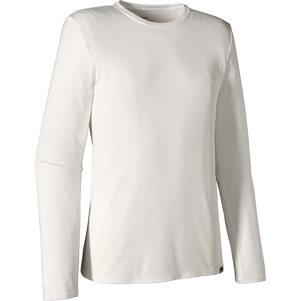 Patagonia Mens Long Sleeve Capilene Daily T Shirt S White Patagonia Men s Apparel