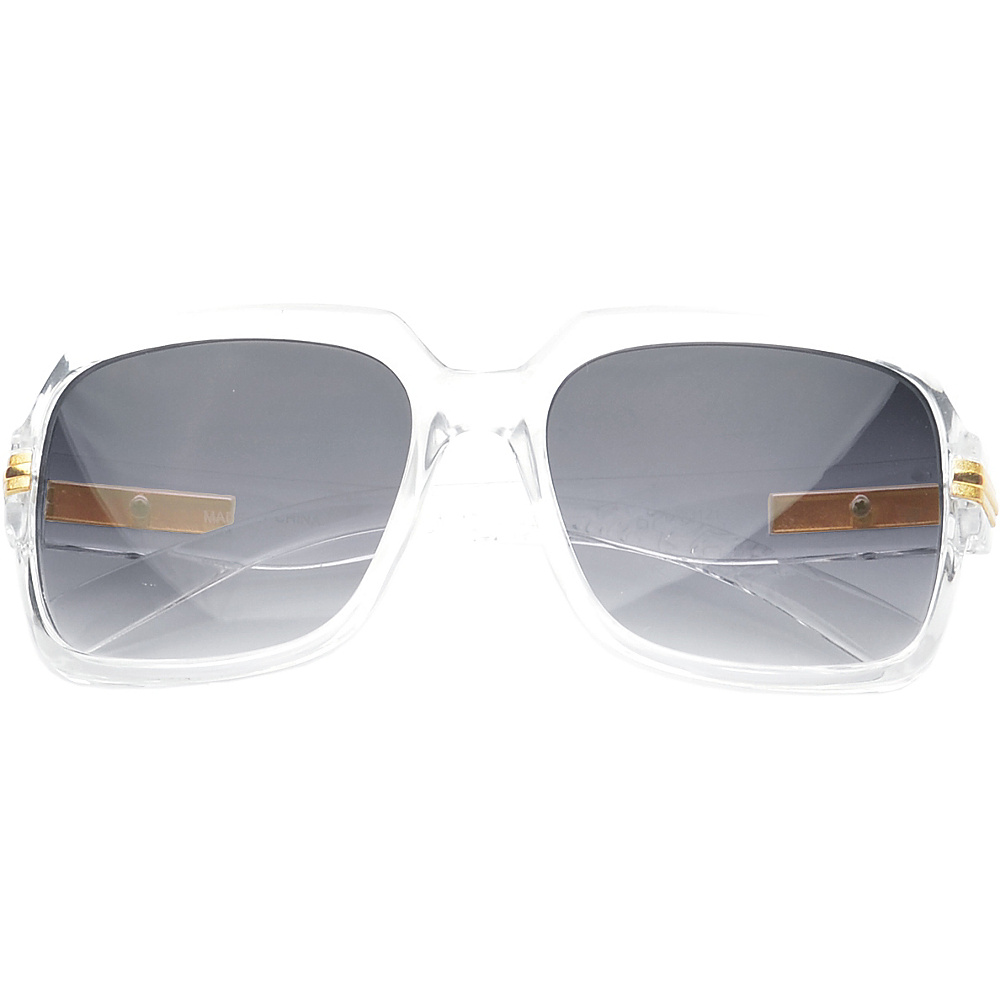 SW Global Eyewear Joanna Rectangle Fashion Sunglasses Clear - SW Global Sunglasses - Fashion Accessories, Sunglasses