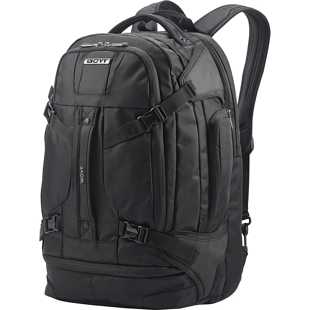 Boyt Edge Softside Backpack 21 Deep Black - Boyt Business & Laptop Backpacks