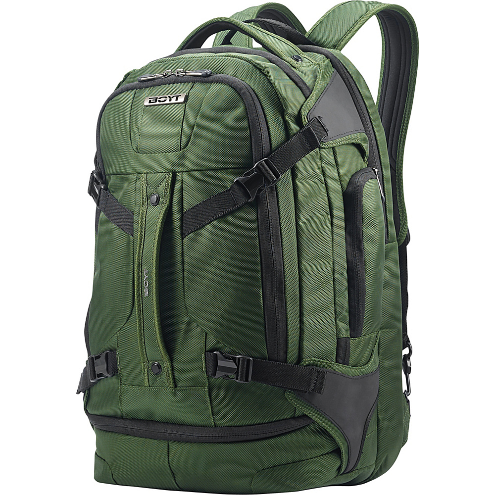 Boyt Edge Softside Backpack 21 Forest Green - Boyt Business & Laptop Backpacks