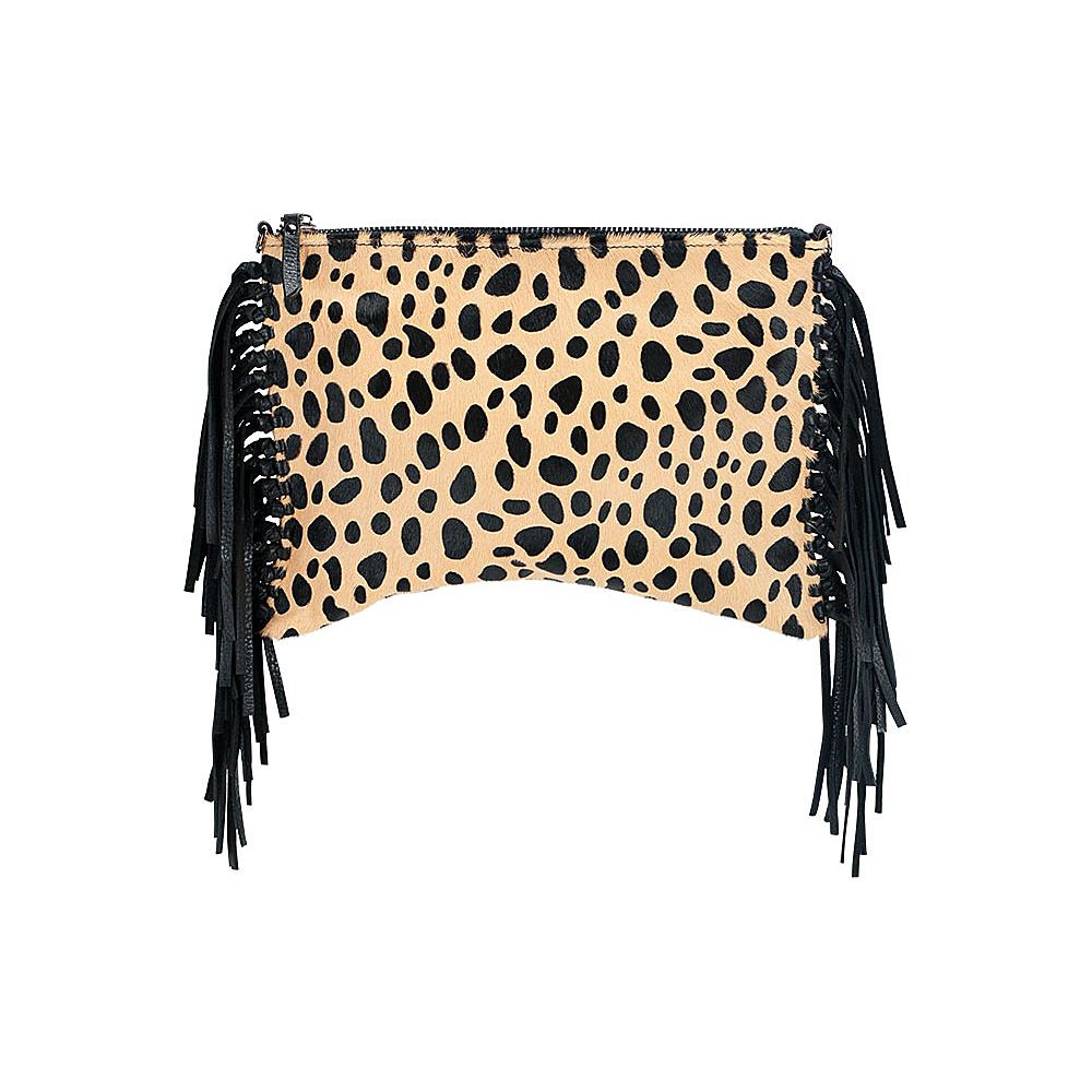 MOFE Kalon Crossbody Cheetah Pony Hair MOFE Leather Handbags