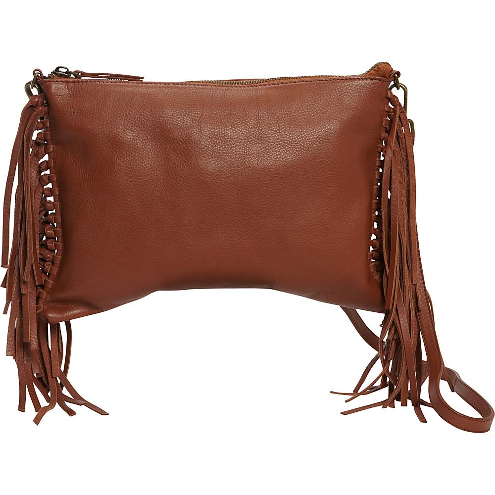 MOFE Kalon Crossbody Cognac Brown MOFE Leather Handbags