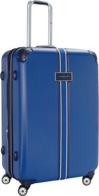 Tommy Hilfiger Luggage Classic Hardside 29 Upright Spinner Blue - Tommy Hilfiger Luggage Hardside Checked