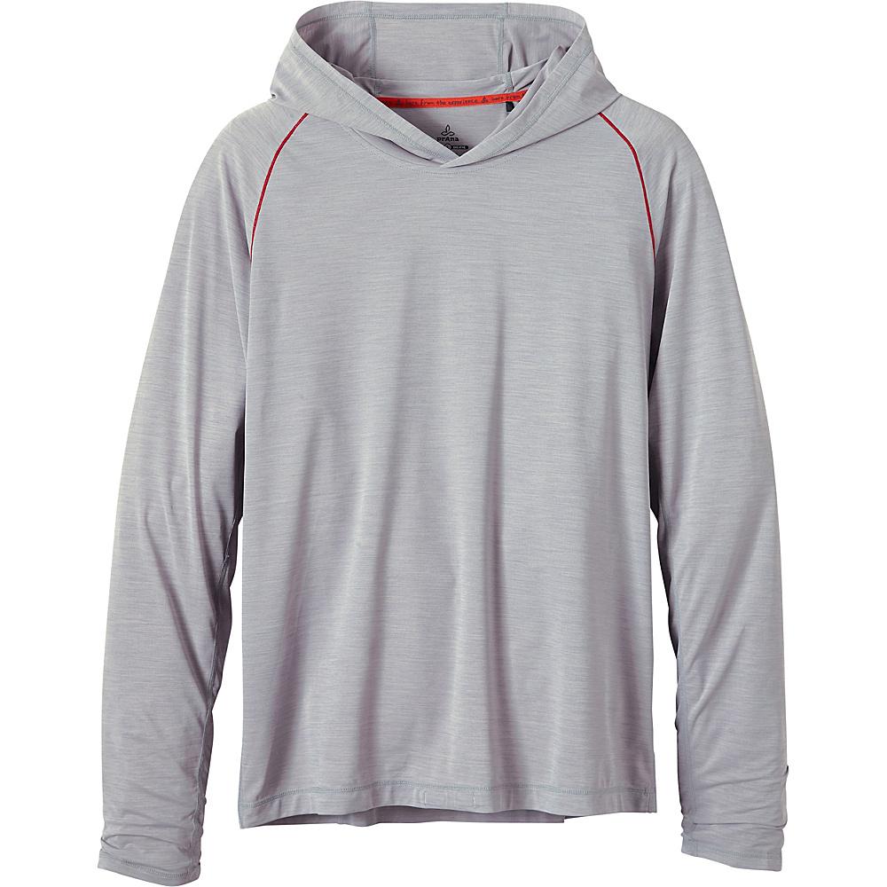 PrAna Calder Hoodie XL - Grey - PrAna Mens Apparel - Apparel & Footwear, Men's Apparel