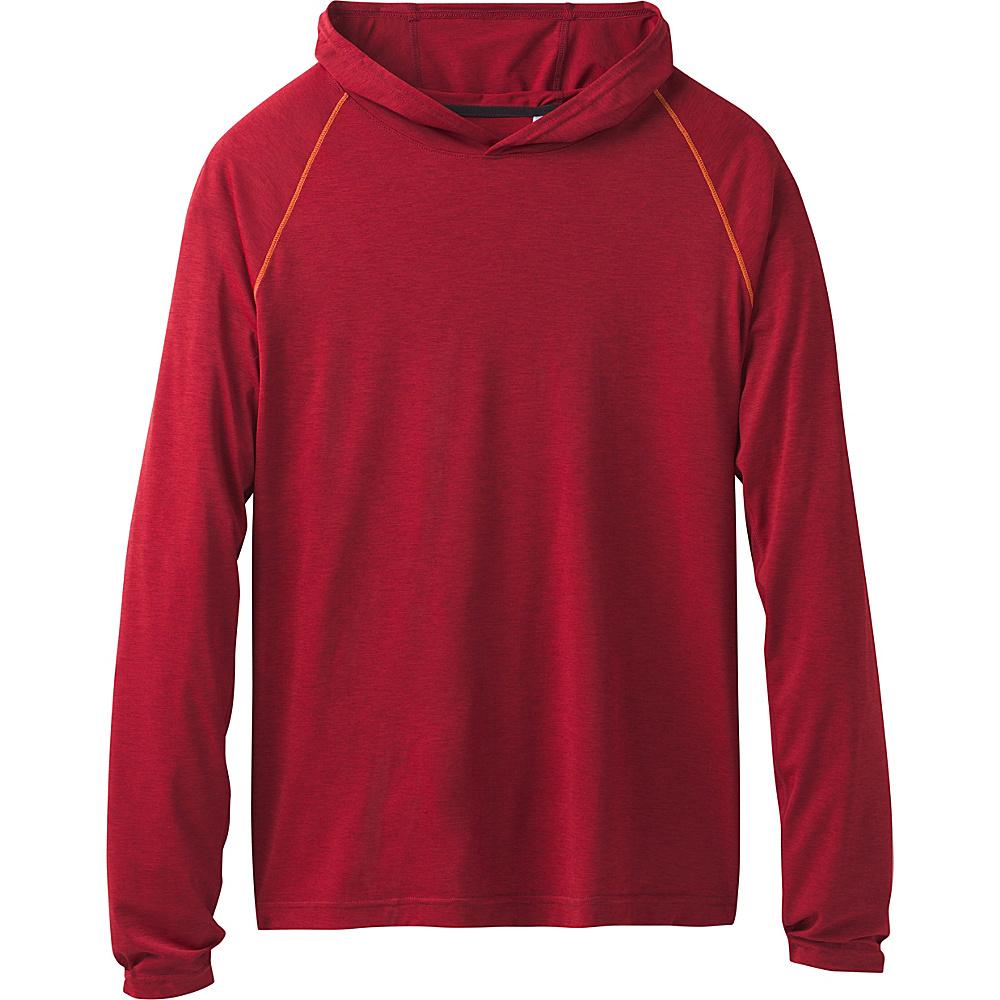 PrAna Calder Hoodie M - Crimson - PrAna Mens Apparel - Apparel & Footwear, Men's Apparel