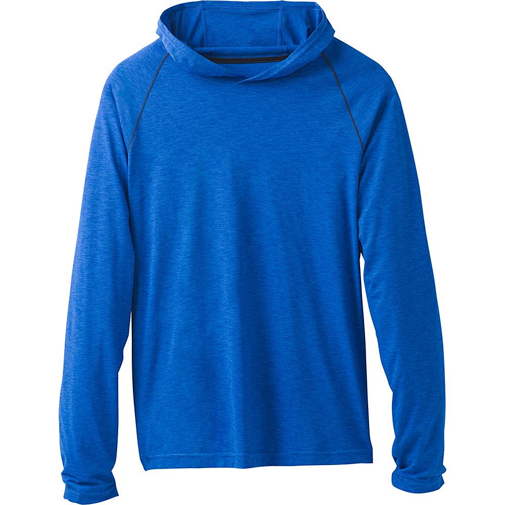 PrAna Calder Hoodie M - Island Blue - PrAna Mens Apparel - Apparel & Footwear, Men's Apparel