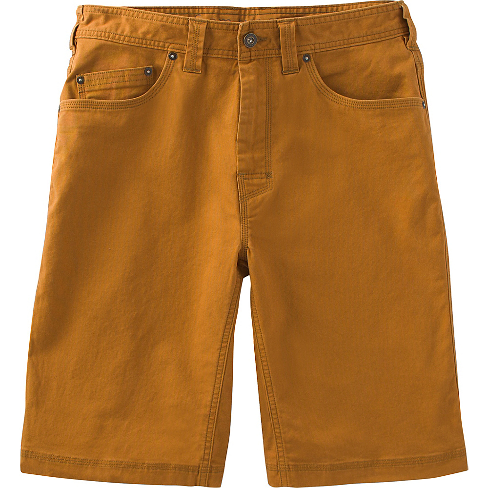 PrAna Bronson Shorts - 11 Inseam 34 - Cumin - PrAna Mens Apparel - Apparel & Footwear, Men's Apparel