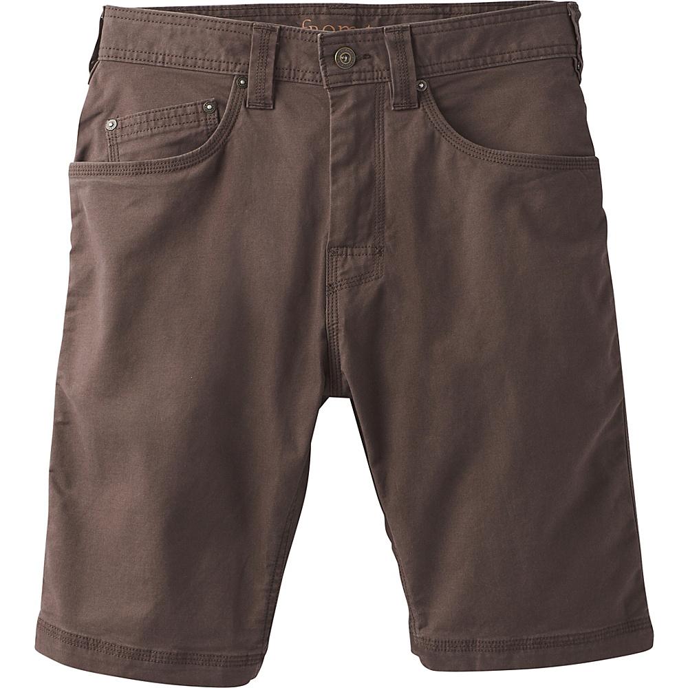 PrAna Bronson Shorts - 11 Inseam 33 - Acacia Brown - PrAna Mens Apparel - Apparel & Footwear, Men's Apparel