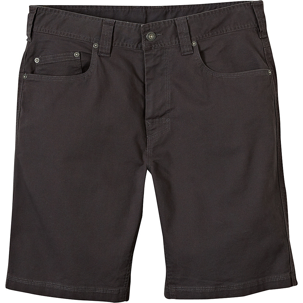 PrAna Bronson Shorts - 11 Inseam 28 - Charcoal - PrAna Mens Apparel - Apparel & Footwear, Men's Apparel