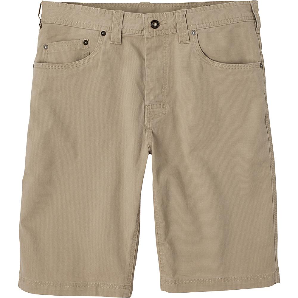 PrAna Bronson Shorts - 11 Inseam 31 - Dark Khaki - PrAna Mens Apparel - Apparel & Footwear, Men's Apparel