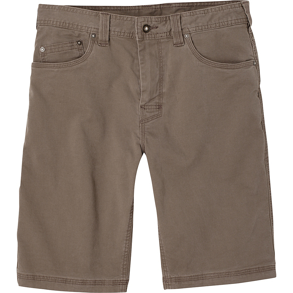 PrAna Bronson Shorts - 11 Inseam 28 - Mud - PrAna Mens Apparel - Apparel & Footwear, Men's Apparel
