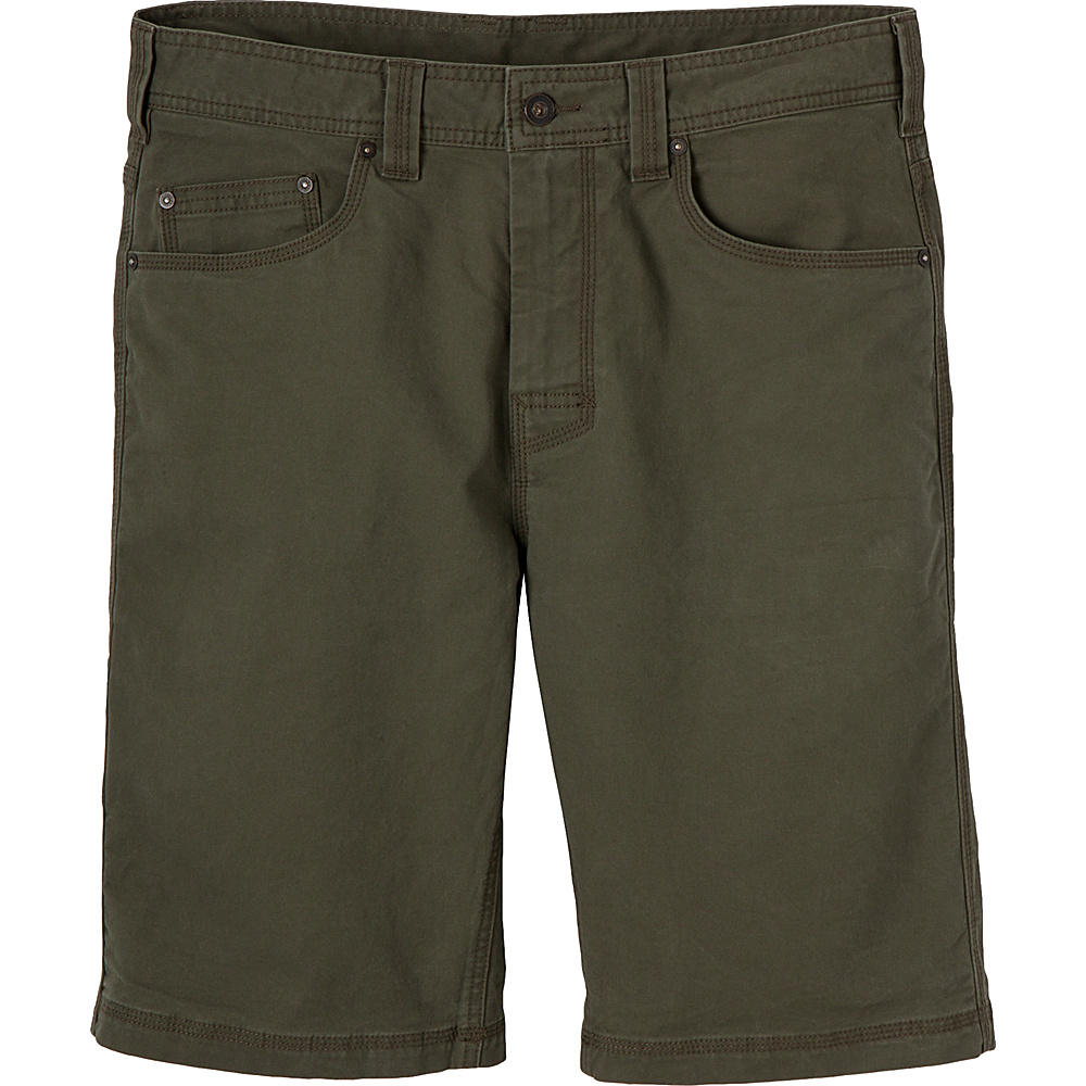 PrAna Bronson Shorts - 11 Inseam 36 - Cargo Green - PrAna Mens Apparel - Apparel & Footwear, Men's Apparel