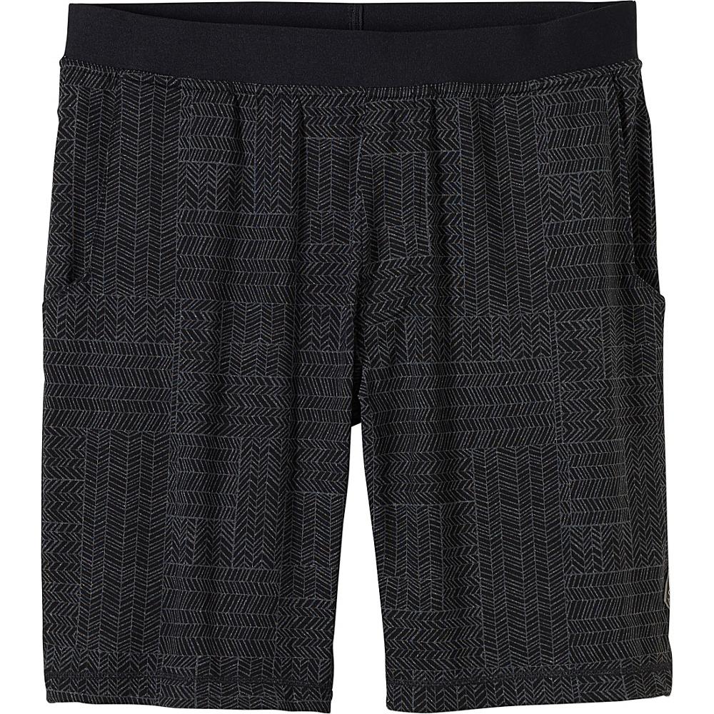 PrAna Mojo Chakara Shorts L - Black - PrAna Mens Apparel - Apparel & Footwear, Men's Apparel