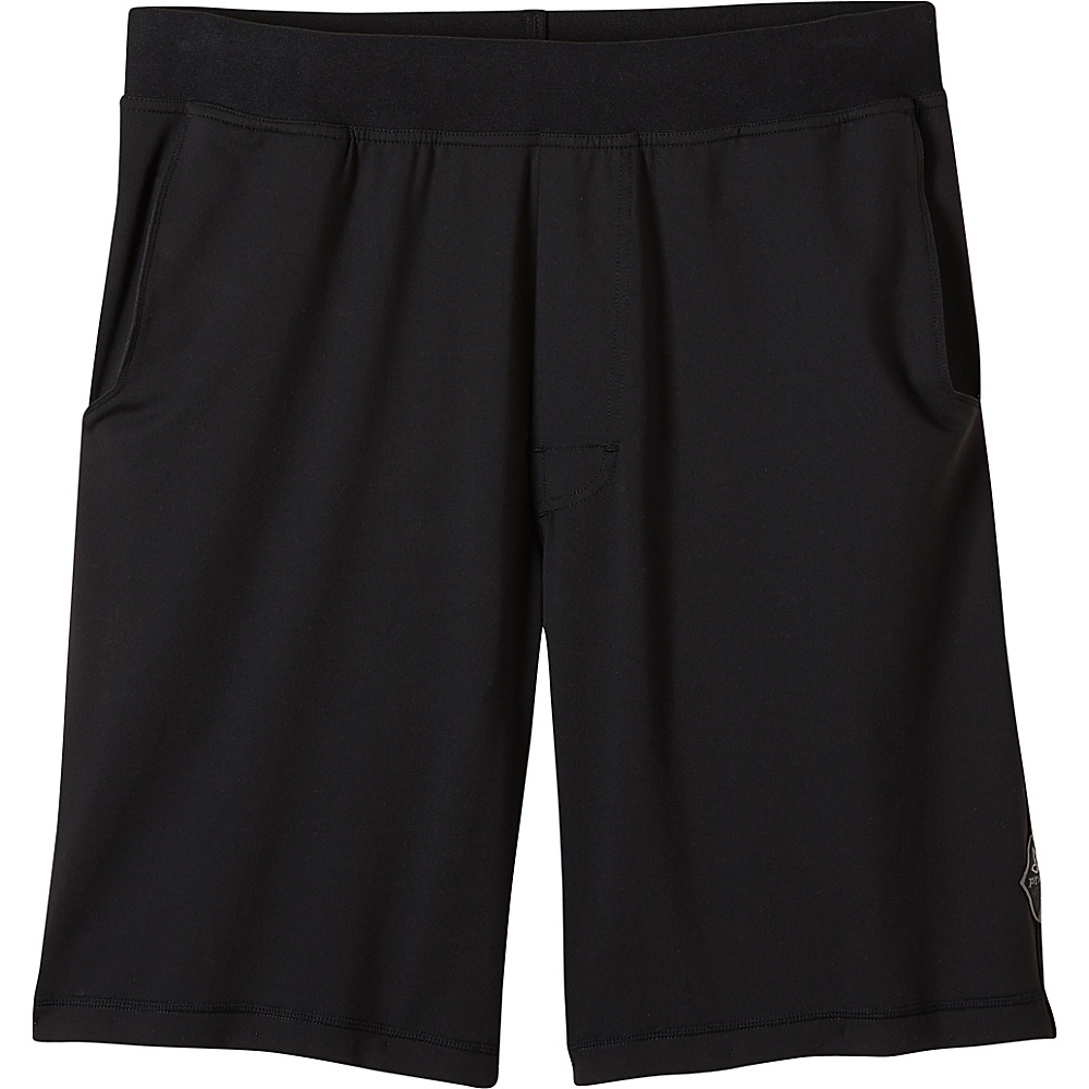 PrAna Mojo Chakara Shorts XL - Black - PrAna Mens Apparel - Apparel & Footwear, Men's Apparel