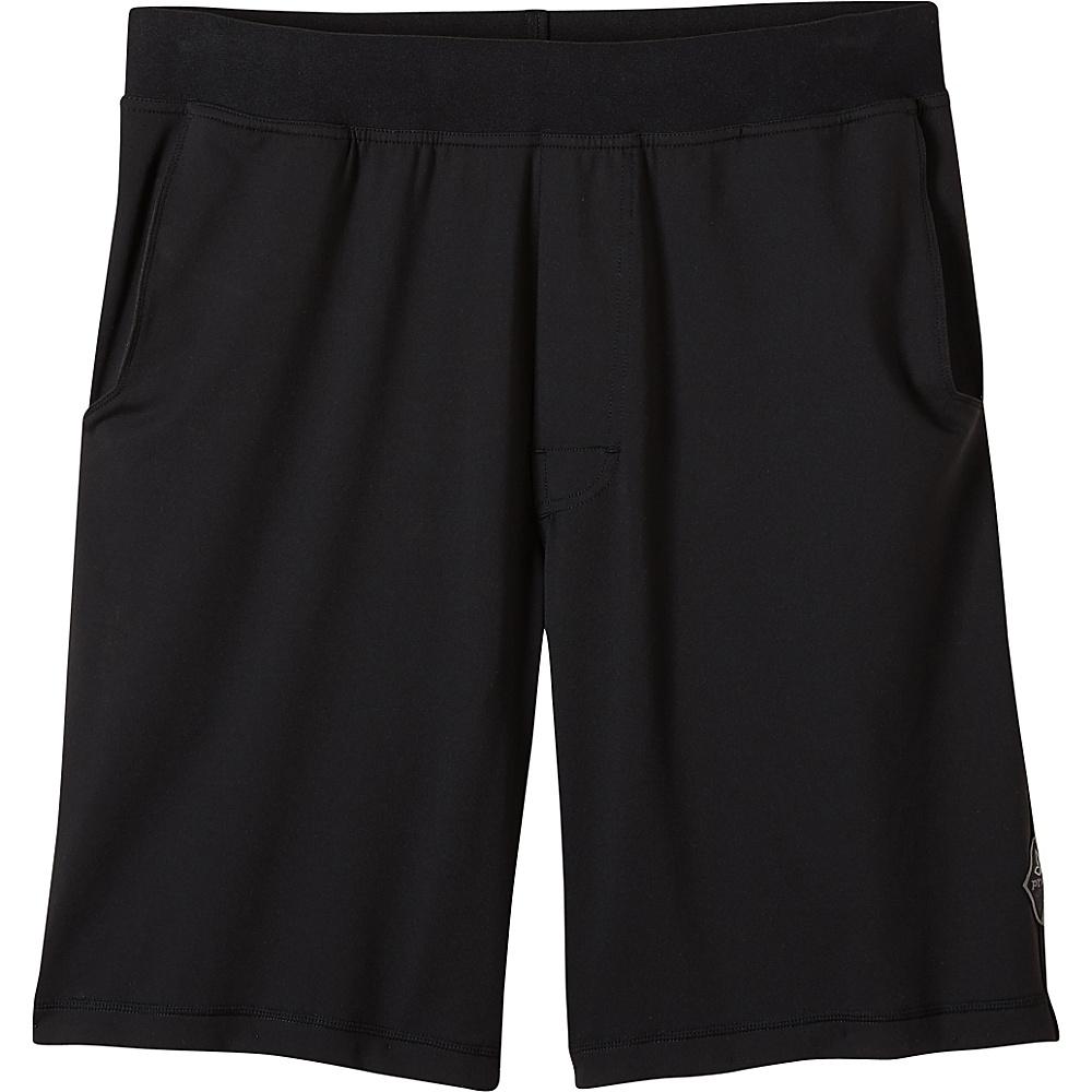 PrAna Mojo Chakara Shorts 2XL - Black - PrAna Mens Apparel - Apparel & Footwear, Men's Apparel
