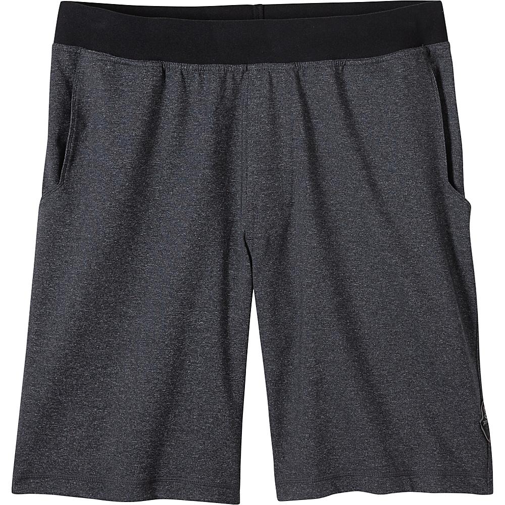 PrAna Mojo Chakara Shorts L - Charcoal Heather - PrAna Mens Apparel - Apparel & Footwear, Men's Apparel