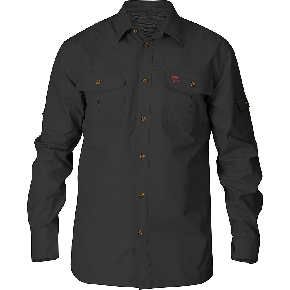 Fjallraven Sarek Trekking Shirt S - Dark Grey - Fjallraven Mens Apparel - Apparel & Footwear, Men's Apparel