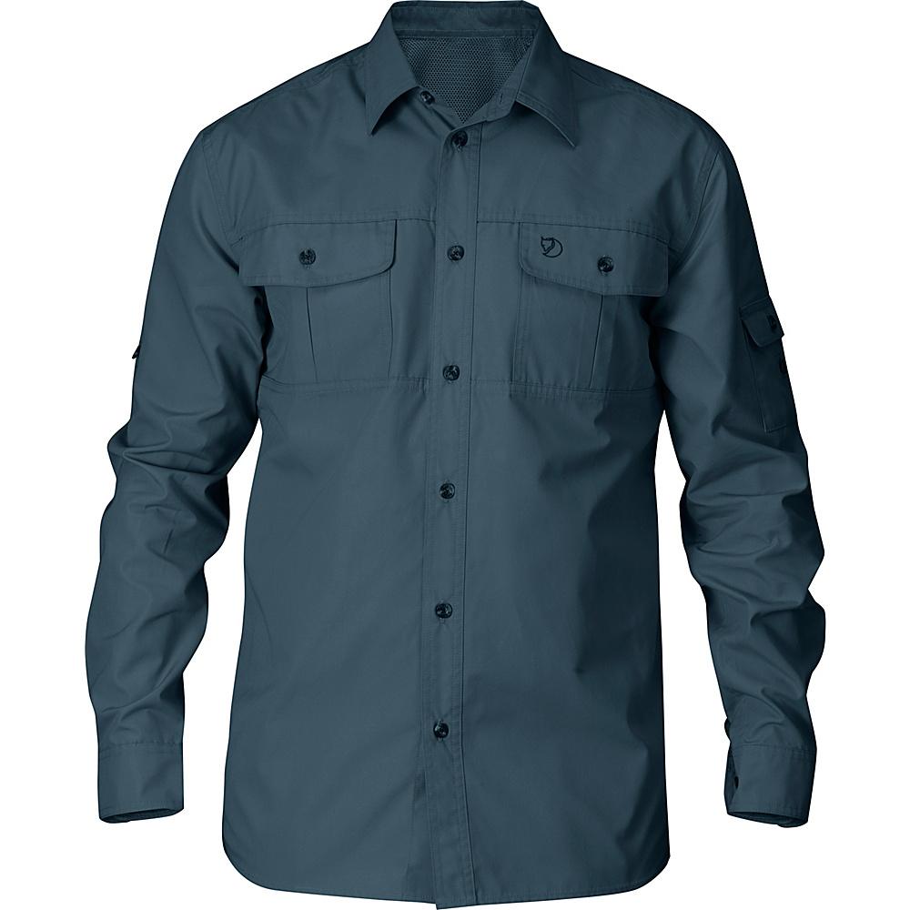 Fjallraven Sarek Trekking Shirt L - Dark Grey - Fjallraven Mens Apparel - Apparel & Footwear, Men's Apparel