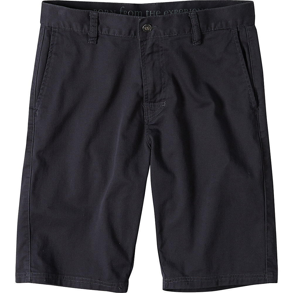 PrAna Table Rock Chino Shorts 30 - Coal - PrAna Mens Apparel - Apparel & Footwear, Men's Apparel