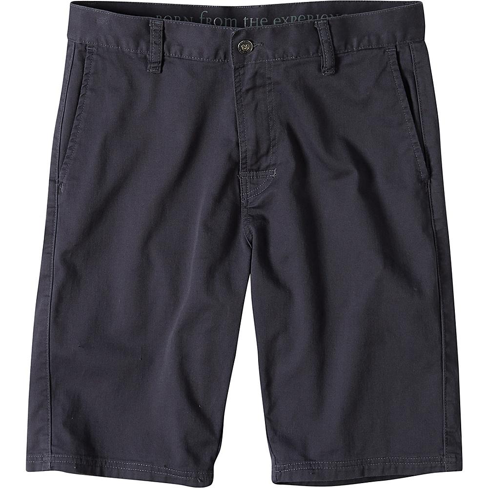 PrAna Table Rock Chino Shorts 38 - Coal - PrAna Mens Apparel - Apparel & Footwear, Men's Apparel