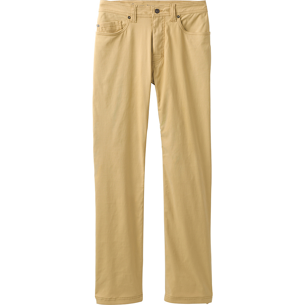 PrAna Brion Pants - 34 Inseam 36 - Sandpiper - PrAna Mens Apparel - Apparel & Footwear, Men's Apparel