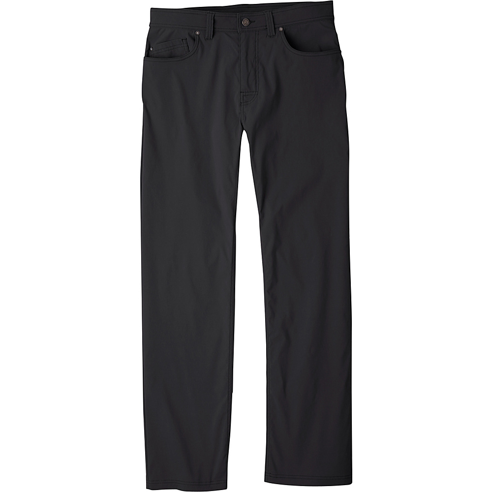 PrAna Brion Pants - 34 Inseam 28 - Black - PrAna Mens Apparel - Apparel & Footwear, Men's Apparel