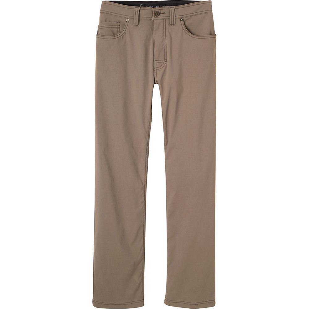 PrAna Brion Pants - 34 Inseam 28 - Mud - PrAna Mens Apparel - Apparel & Footwear, Men's Apparel