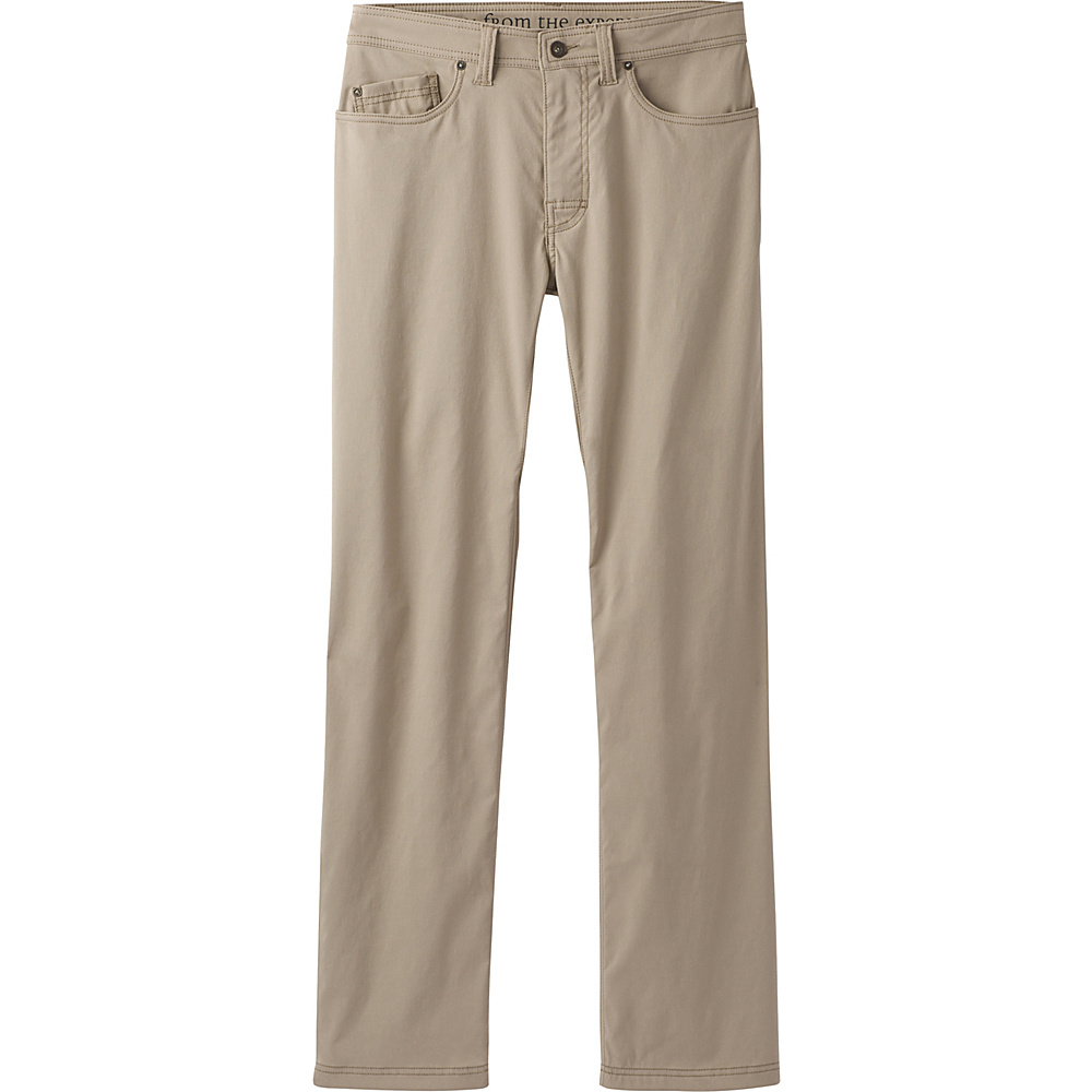 PrAna Brion Pants - 34 Inseam 32 - Dark Khaki - PrAna Mens Apparel - Apparel & Footwear, Men's Apparel