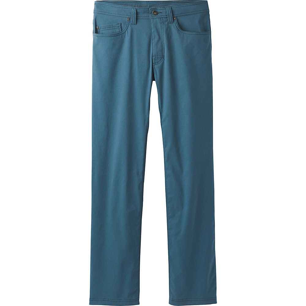 PrAna Brion Pants - 34 Inseam 33 - Mood Indigo - PrAna Mens Apparel - Apparel & Footwear, Men's Apparel