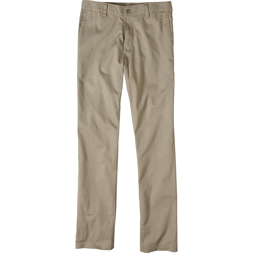 PrAna Table Rock Chinos 34 - Dark Khaki - PrAna Mens Apparel - Apparel & Footwear, Men's Apparel