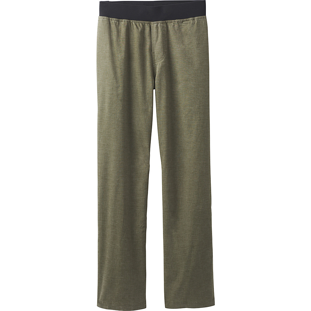 PrAna Vaha Pants - 34 Inseam L - Dark Ginger - PrAna Mens Apparel - Apparel & Footwear, Men's Apparel