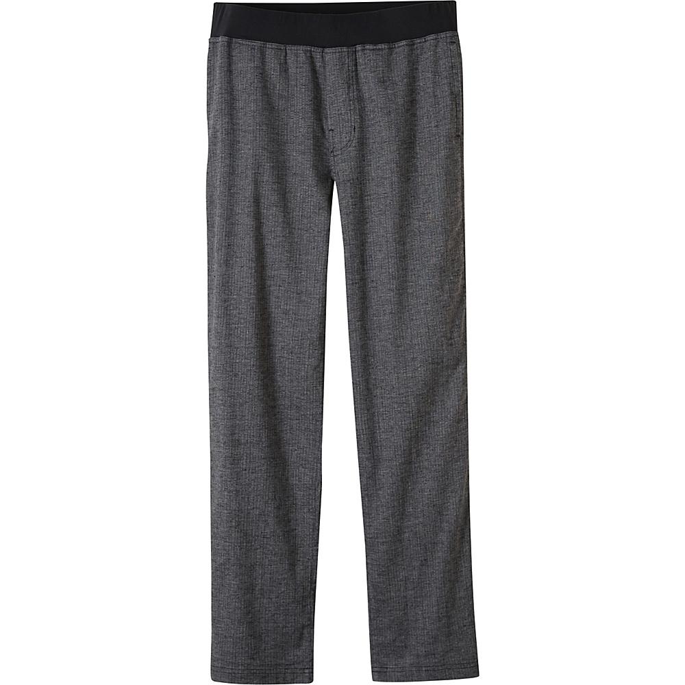 PrAna Vaha Pants - 34 Inseam L - Black Herringbone - PrAna Mens Apparel - Apparel & Footwear, Men's Apparel