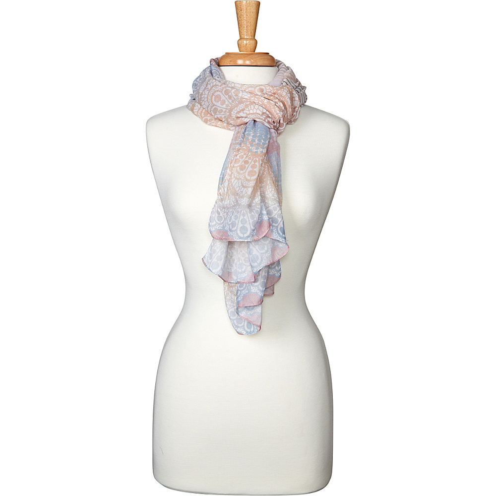 PrAna Lacey Scarf Dusted Blush - PrAna Hats/Gloves/Scarves - Fashion Accessories, Hats/Gloves/Scarves