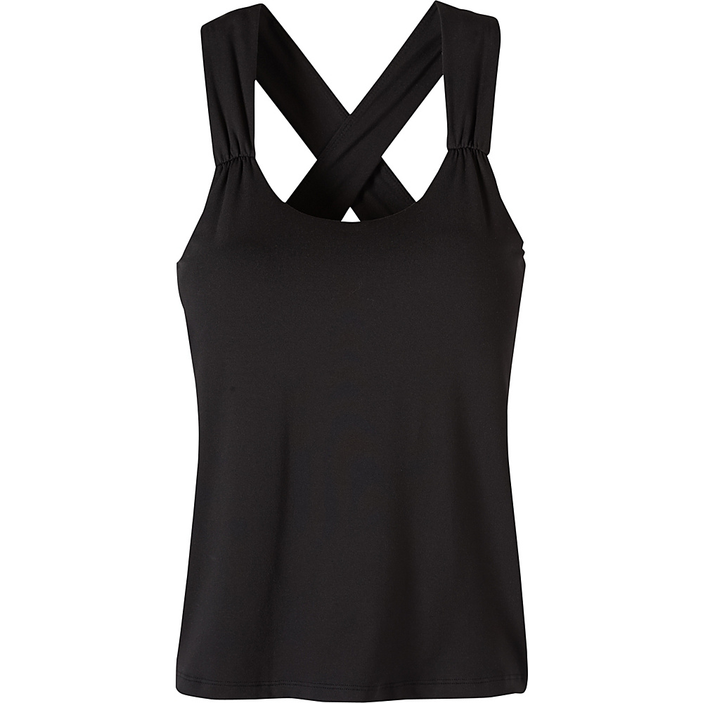 PrAna Phoebe Top L - Black - PrAna Womens Apparel - Apparel & Footwear, Women's Apparel
