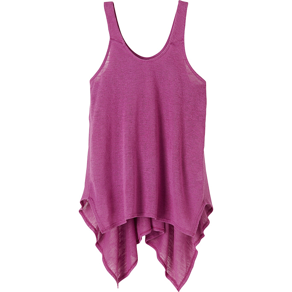 PrAna Whisper Tank Top S - True Orchid - PrAna Womens Apparel - Apparel & Footwear, Women's Apparel