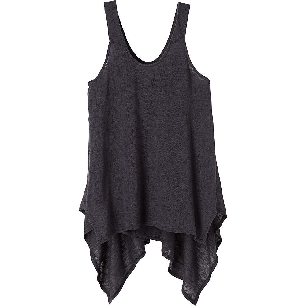 PrAna Whisper Tank Top L - Coal - PrAna Womens Apparel - Apparel & Footwear, Women's Apparel