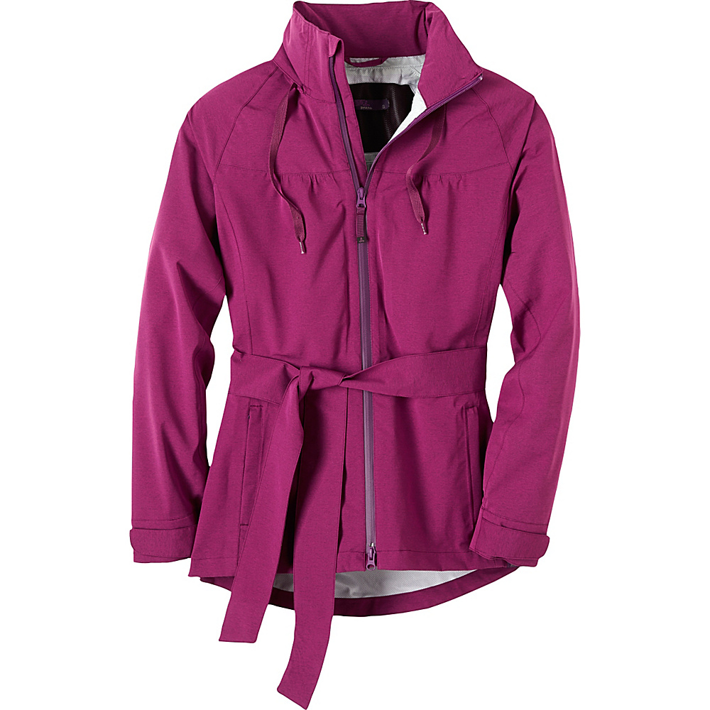 PrAna Eliza Jacket L - Light Red Violet - PrAna Womens Apparel - Apparel & Footwear, Women's Apparel