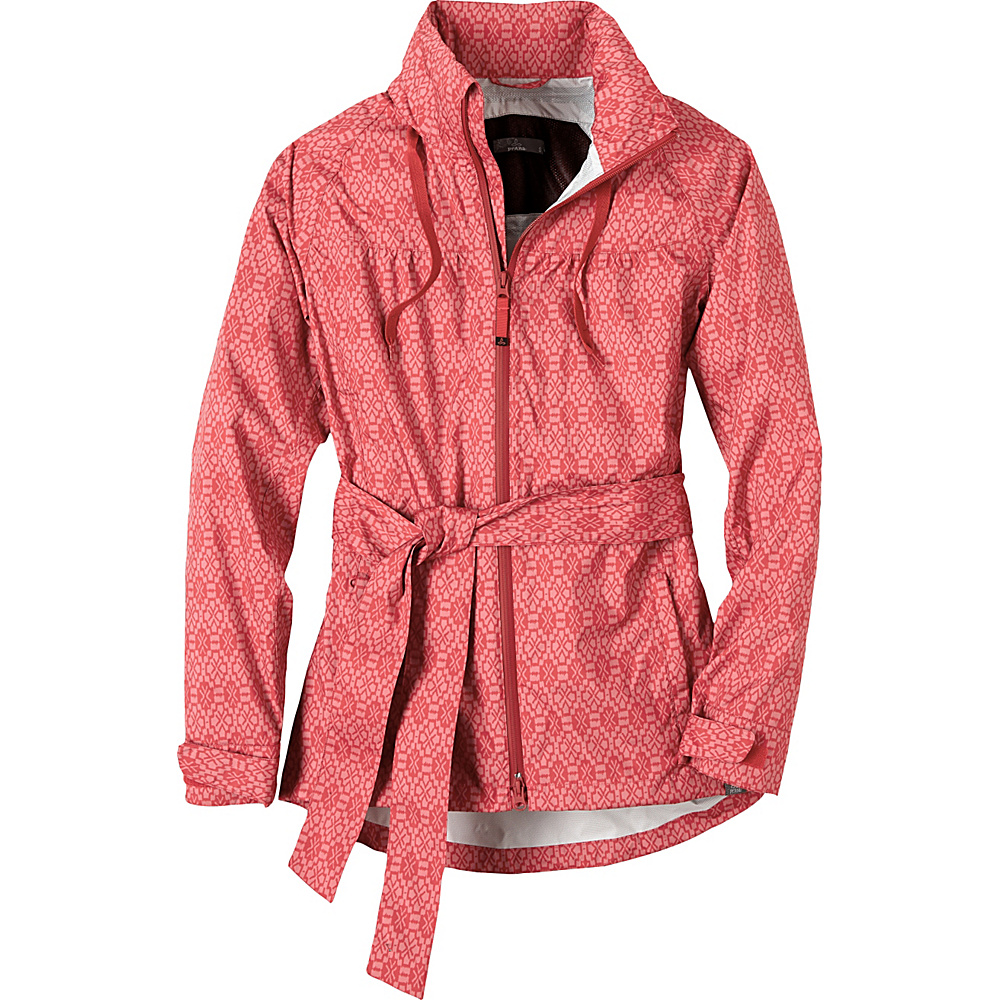PrAna Eliza Jacket L - Sunwashed Red Misty - PrAna Womens Apparel - Apparel & Footwear, Women's Apparel