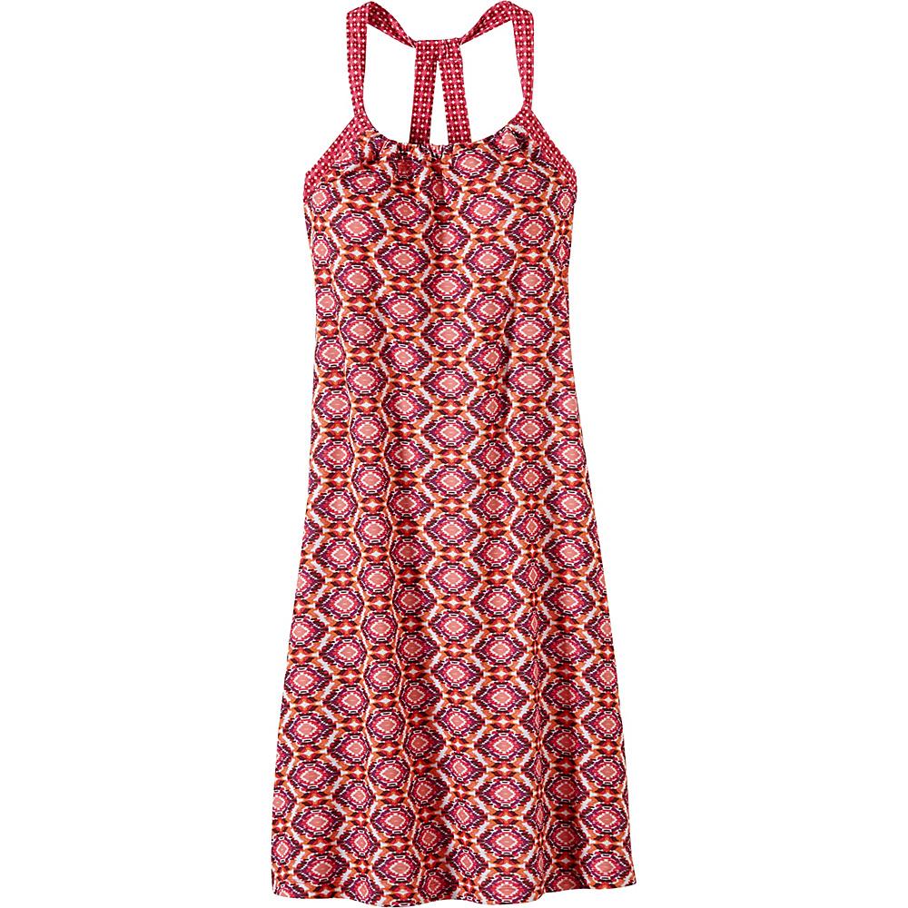 PrAna Quinn Dress XL - Azalea Guava - PrAna Womens Apparel - Apparel & Footwear, Women's Apparel