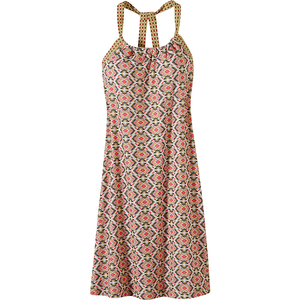 PrAna Quinn Dress XL - Safari Guava - PrAna Womens Apparel - Apparel & Footwear, Women's Apparel