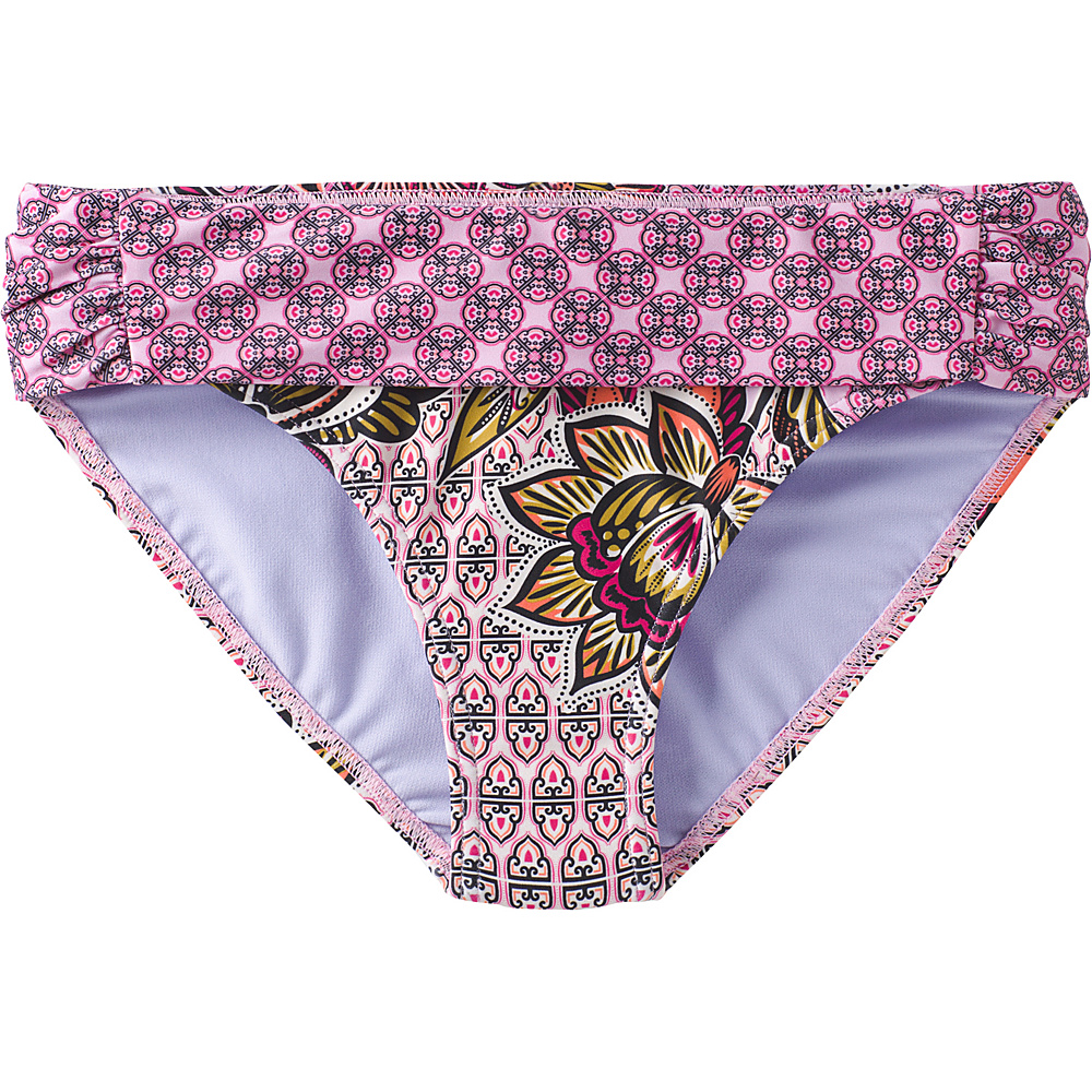 PrAna Sirra Bottoms XS - Cosmo Pink Fleur Damour - PrAna Womens Apparel - Apparel & Footwear, Women's Apparel