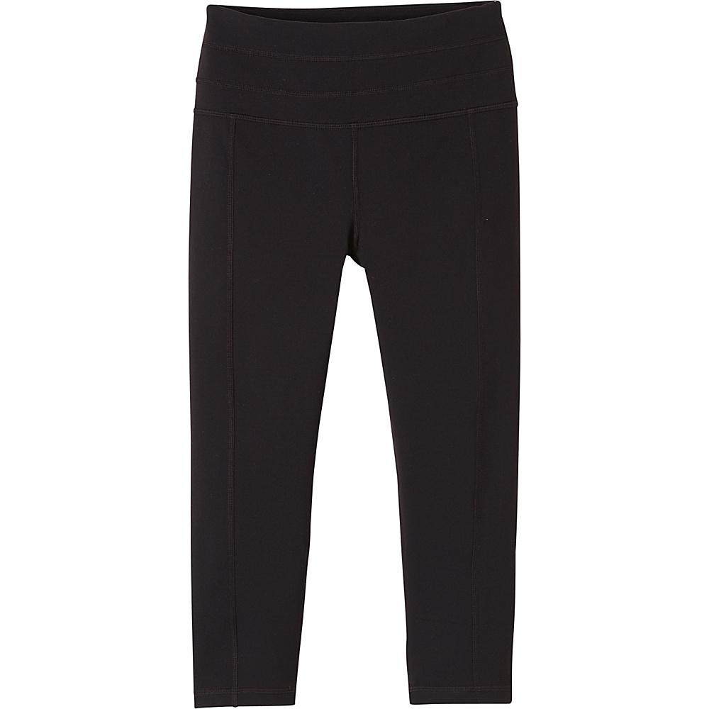PrAna Contour Knicker XS - Black - PrAna Womens Apparel - Apparel & Footwear, Women's Apparel