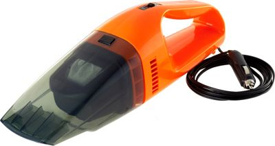 High Road 12V Wet or Dry 75W Car Vacuum Cleaner Orange and Black - High Road Trunk and Transport Organization